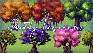 Painterly Trees Asset Pack