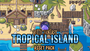 Tropical Island Game Assets