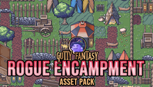 Load image into Gallery viewer, Rogue Encampment Game Assets