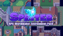 Load image into Gallery viewer, Spriter Pro DLC: RPG Worldmaker Environment Art Pack
