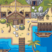 Load image into Gallery viewer, Tropical Island Game Assets