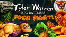 Load image into Gallery viewer, Tyler Warren RPG Battlers Boss Fight