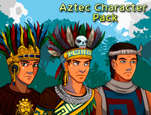 Load image into Gallery viewer, Aztec Character Pack