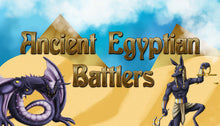Load image into Gallery viewer, Egyptian Myth Battlers