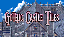 Load image into Gallery viewer, Gothic Castle Tiles
