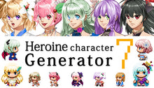 Load image into Gallery viewer, Heroine Character Generator 7