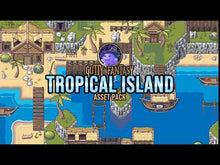 Load and play video in Gallery viewer, Tropical Island Game Assets