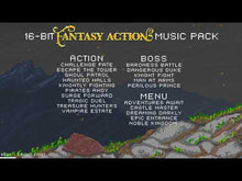 Load and play video in Gallery viewer, 16 Bit Fantasy Action Music Pack
