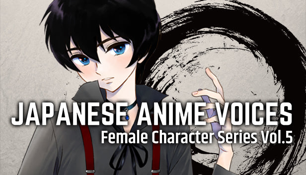 Japanese Anime Voices: Female Character Series Vol.5