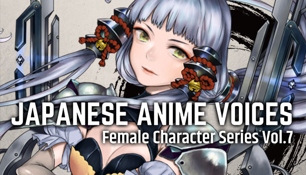 Japanese Anime Voices: Female Character Series Vol.7