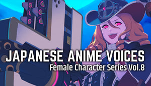 Japanese Anime Voices: Female Character Series Vol.8