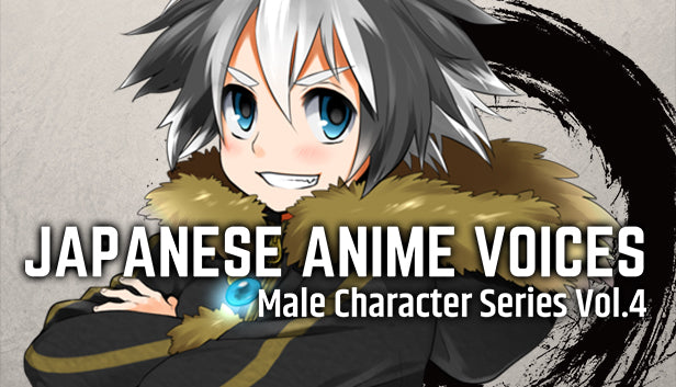 Japanese Anime Voices: Male Character Series Vol.4