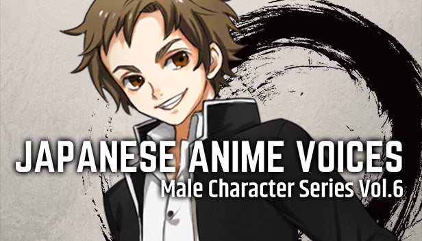 Japanese Anime Voices: Male Character Series Vol.6