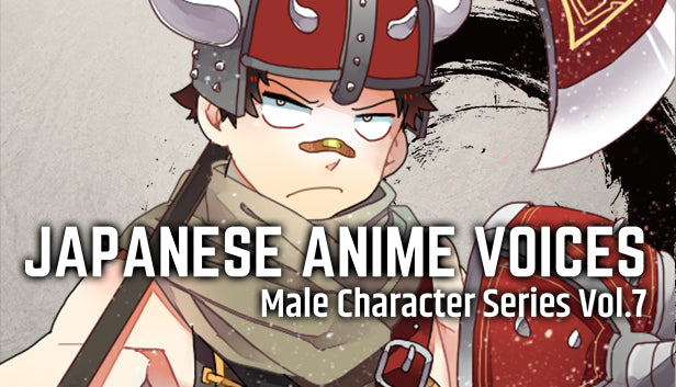 Japanese Anime Voices: Male Character Series Vol.7