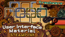 Load image into Gallery viewer, Krachware User Interface Material Steampunk