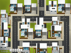 Fantastic Buildings: Modern