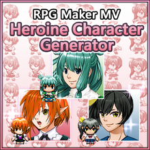 Load image into Gallery viewer, Heroine Character Generator