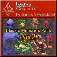 Load image into Gallery viewer, TOKIWA GRAPHICS Classic Monsters Pack No.2
