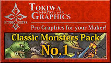 Load image into Gallery viewer, TOKIWA GRAPHICS Classic Monsters Pack No.1