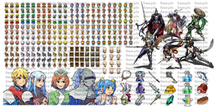 RPG Maker DS Resource Pack for MV