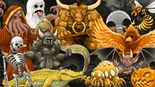 Load image into Gallery viewer, Tyler Warren RPG Battlers 8th 50 - More Time Fantasy Tribute