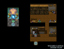 Load image into Gallery viewer, Wizard Castle Inner Tiles