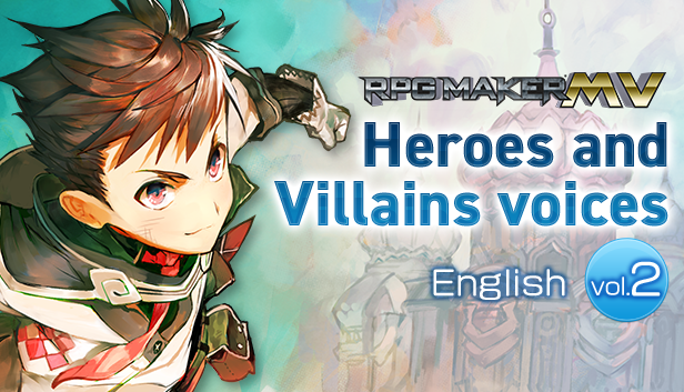 RPG Maker MV Heroes and Villains voices 【English】vol.2