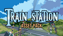 Load image into Gallery viewer, Train Station Asset Pack
