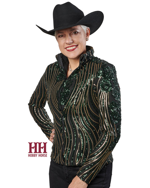 HOBBY HORSE'S BLOOM SHOW JACKET green