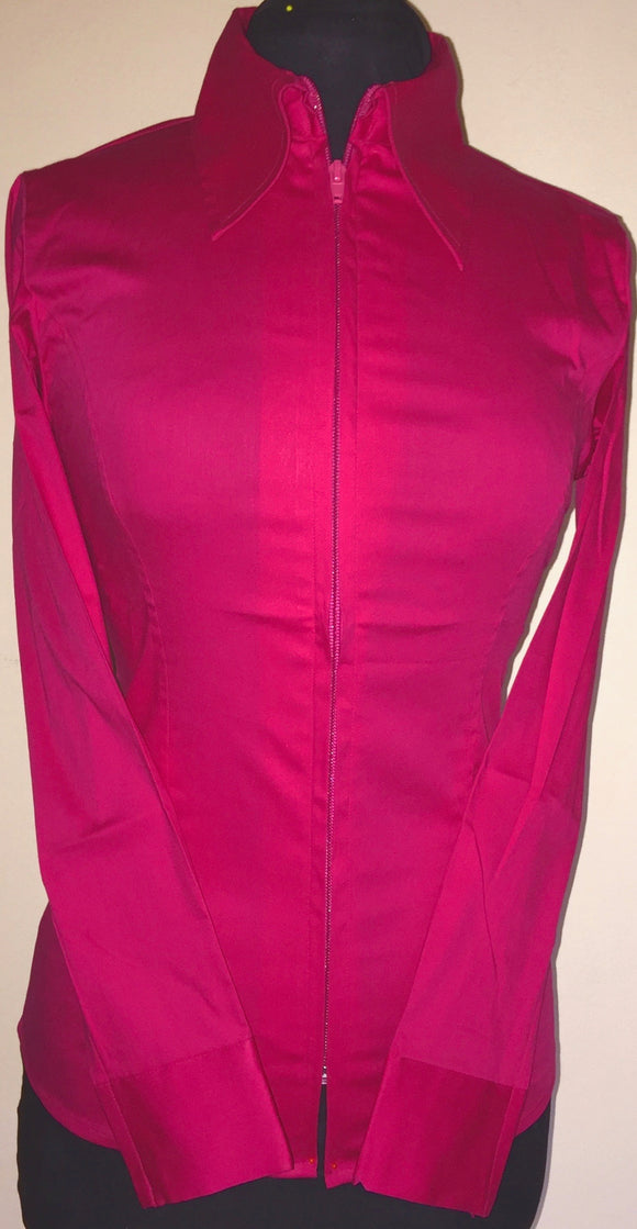 FULL  ZIPPER  BLOES  magenta