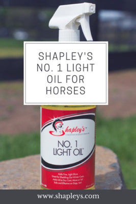 Shapley's No. 1 Light oil 32 oz