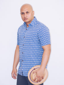 """Handsome in Blue"" unisex summer shirt"