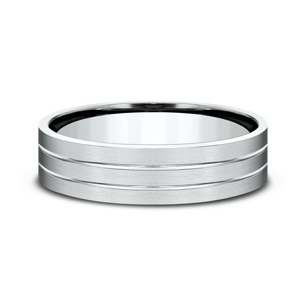 Comfort-Fit Design Wedding Ring