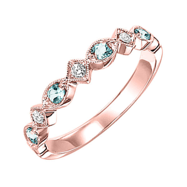 14kr mix prong blue topaz band 1/25ct, rg71631-4wb