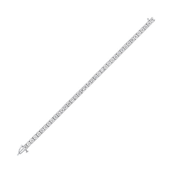 14kw prong diamond bracelet 10ct, rg10059-4pd