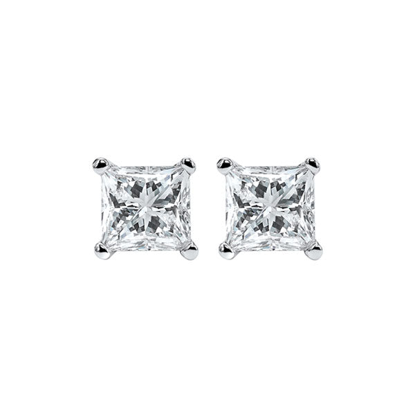 14kw prong diamond studs 1/2ct, fr1066-4yd