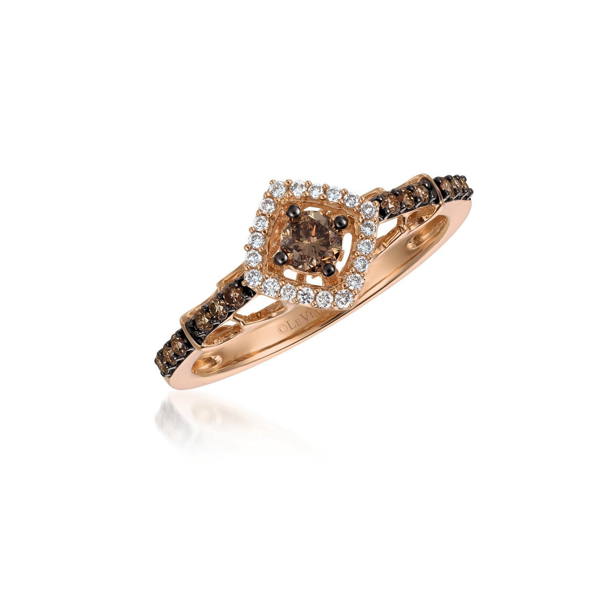 le vian chocolatier® ring featuring 1/3 cts