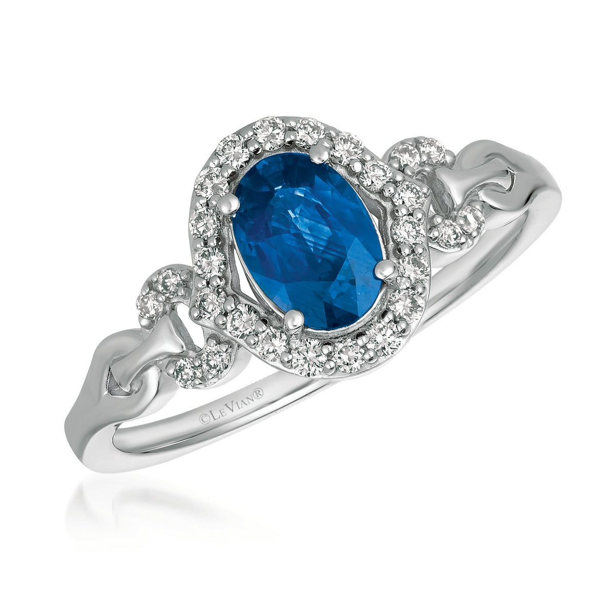 le vian® ring featuring 3/4 cts