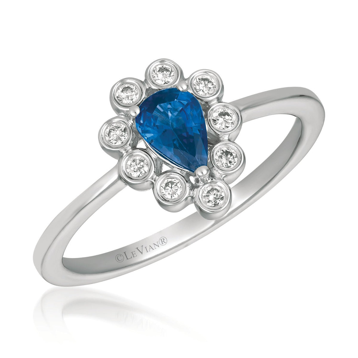 le vian® ring featuring 1/2 cts