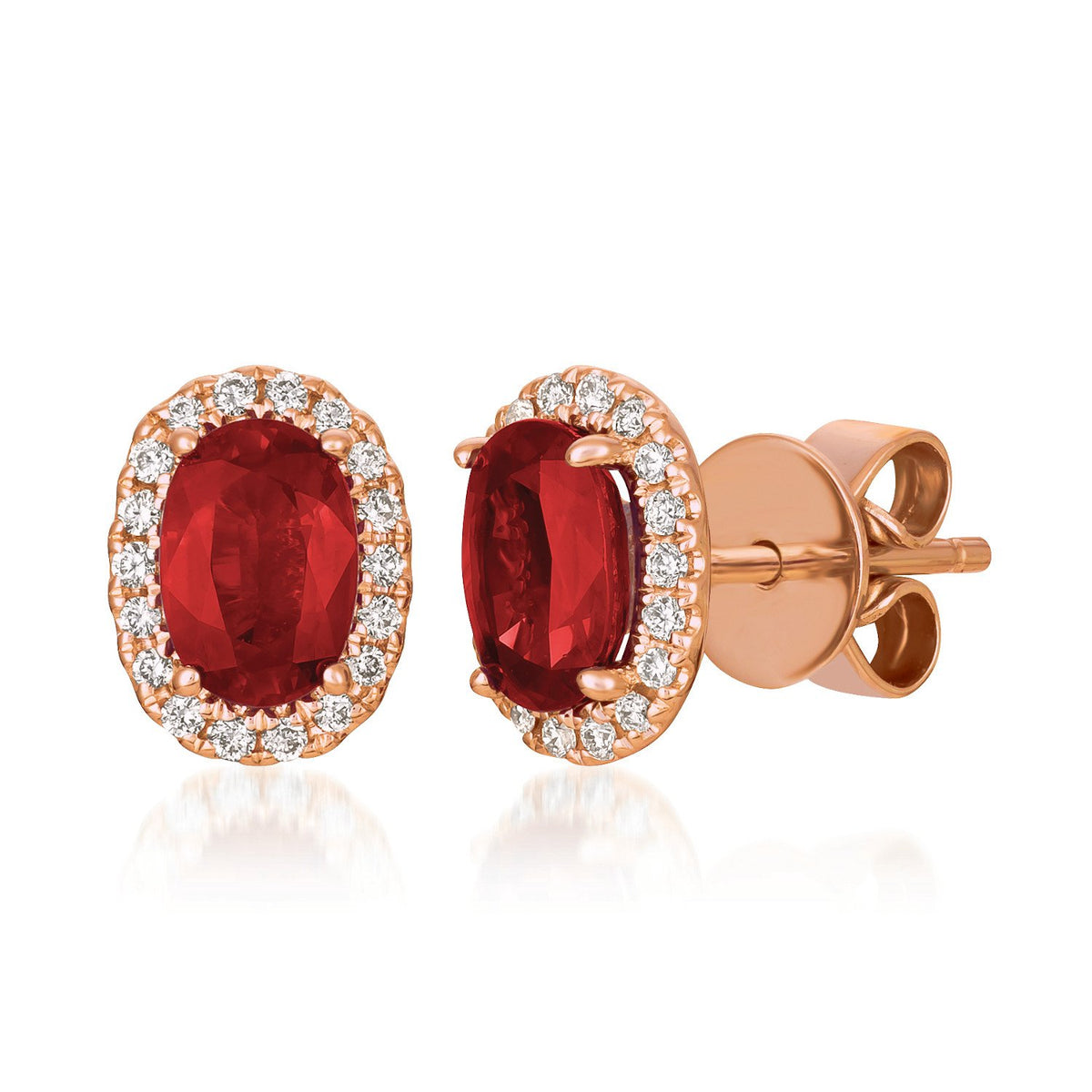 le vian® earrings featuring 7/8 cts