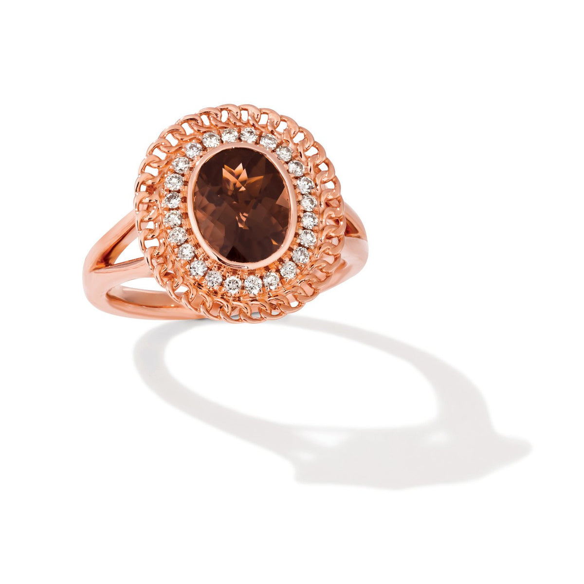 le vian creme brulee® ring featuring 1  5/8 cts