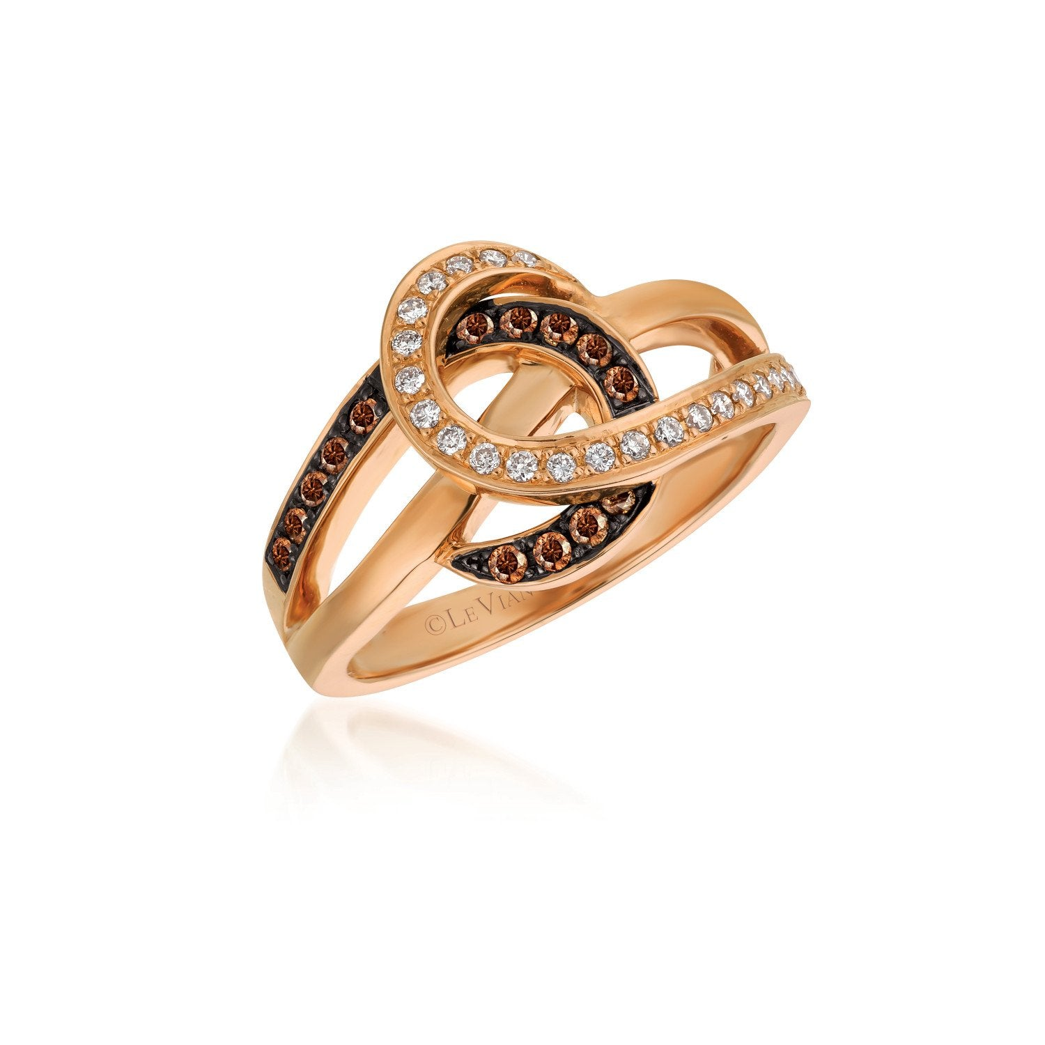 le vian chocolatier® ring featuring 1/6 cts