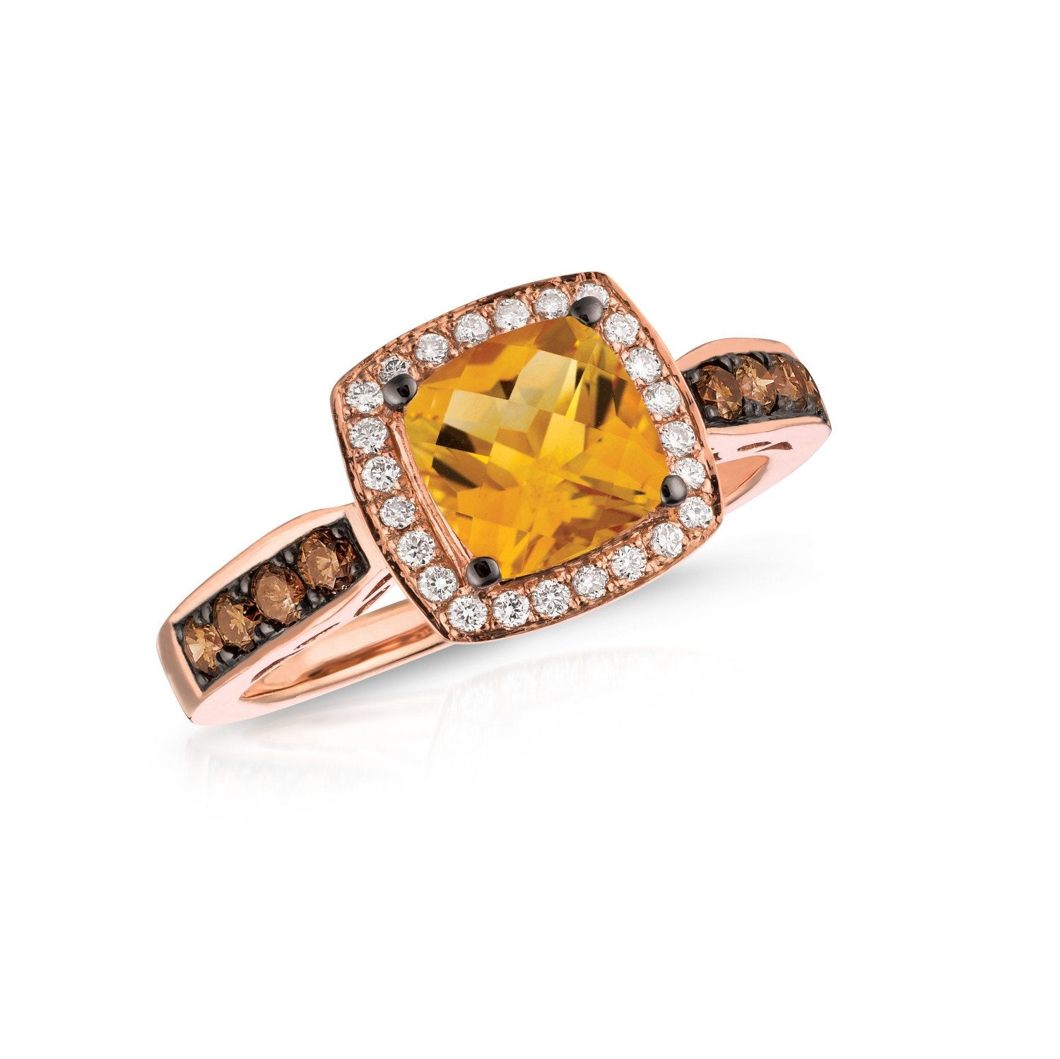 le vian chocolatier® ring featuring 1  1/4 cts