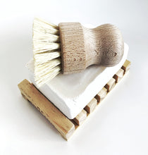 Load image into Gallery viewer, Multipurpose Sisal + Wood Hand Brush