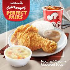 1 pc Chickenjoy w/ Soup Value Meal