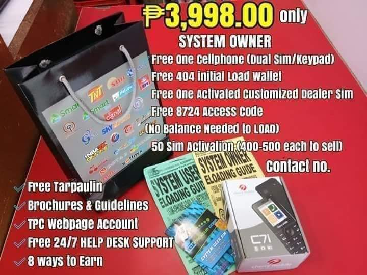 Eloading business call us 09187203704 for inquiries