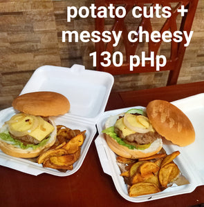 Messy Cheesy with Potato Cuts