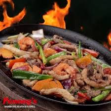 Sizzling Mixed Seafoods