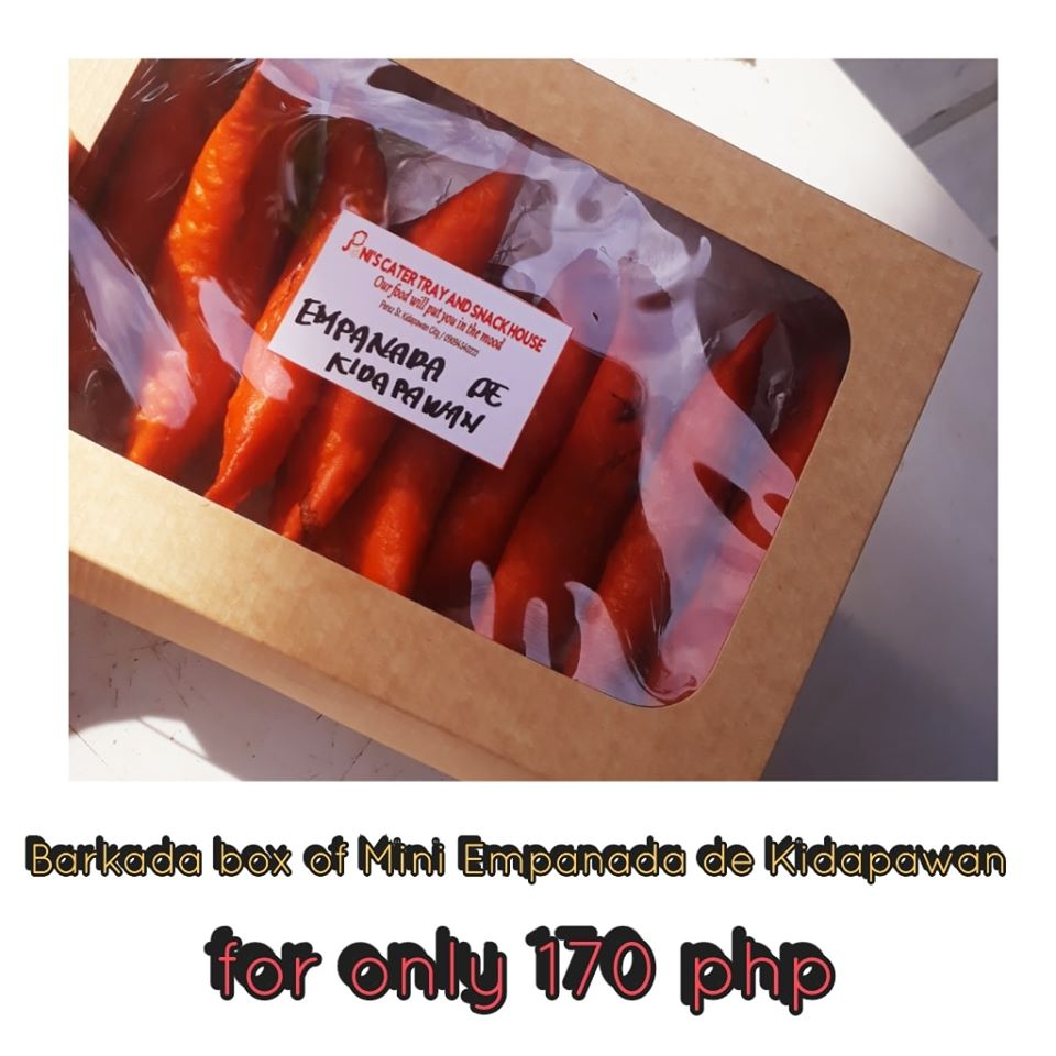 BARKADA BOX mini Empanada De Kidapawan (10pc per box)