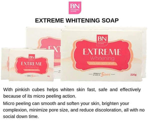 Extreme Whitening Face and  Body soap